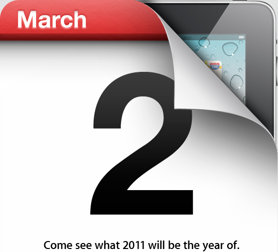 Apple iPad 2 - Marzo