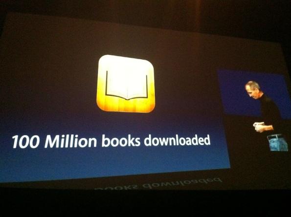 iBooks - 2 Marzo - 100 millones libros descargados