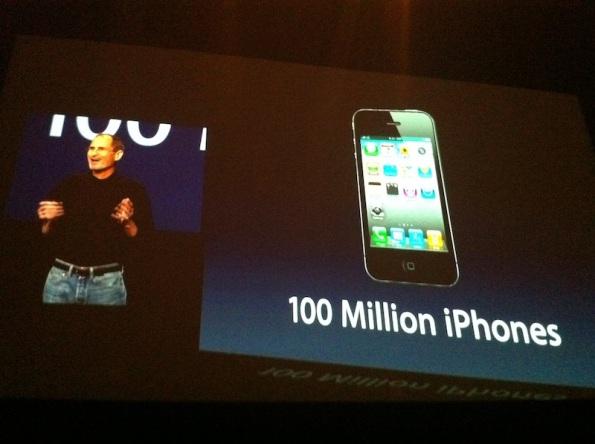 100 millones de iphones vendidos