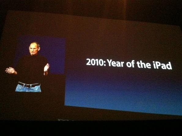 2010 año iPad - 2 Marzo