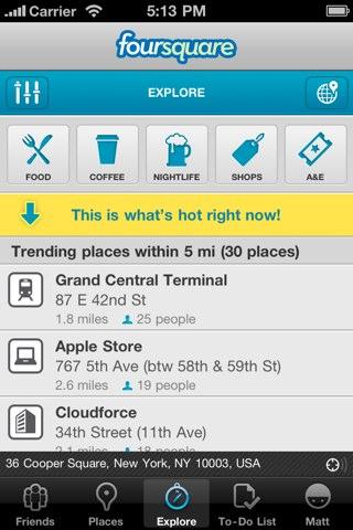 Foursquare 3.0 1