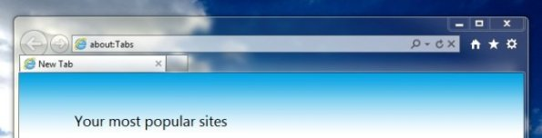 Internet Explorer 9 Interfaz