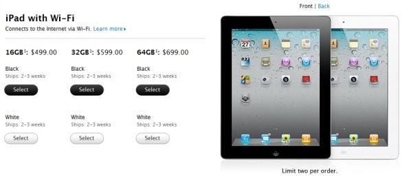 iPad 2 Store Online 2
