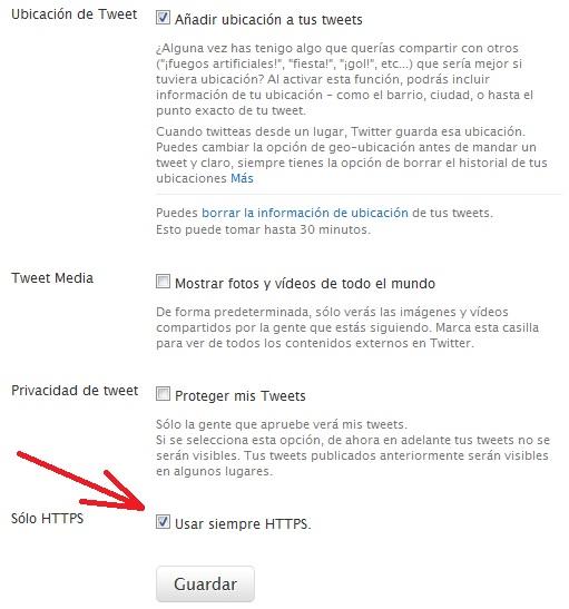 Twitter HTTPS