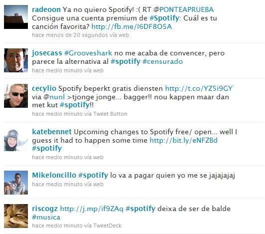 Spotify Twitter