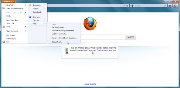 Firefox 5 Pre Beta 1-1